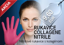 rukavice Collagene Nitrile